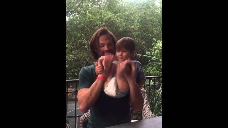 05.01.2016 Jared Padalecki Facebook - Shepherd Padalecki Dance