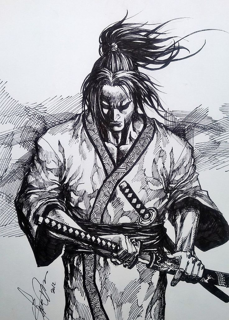 samurai by dikeruan on @DeviantArt