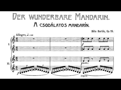 Béla Bartók - The Miraculous Mandarin (1924) - YouTube