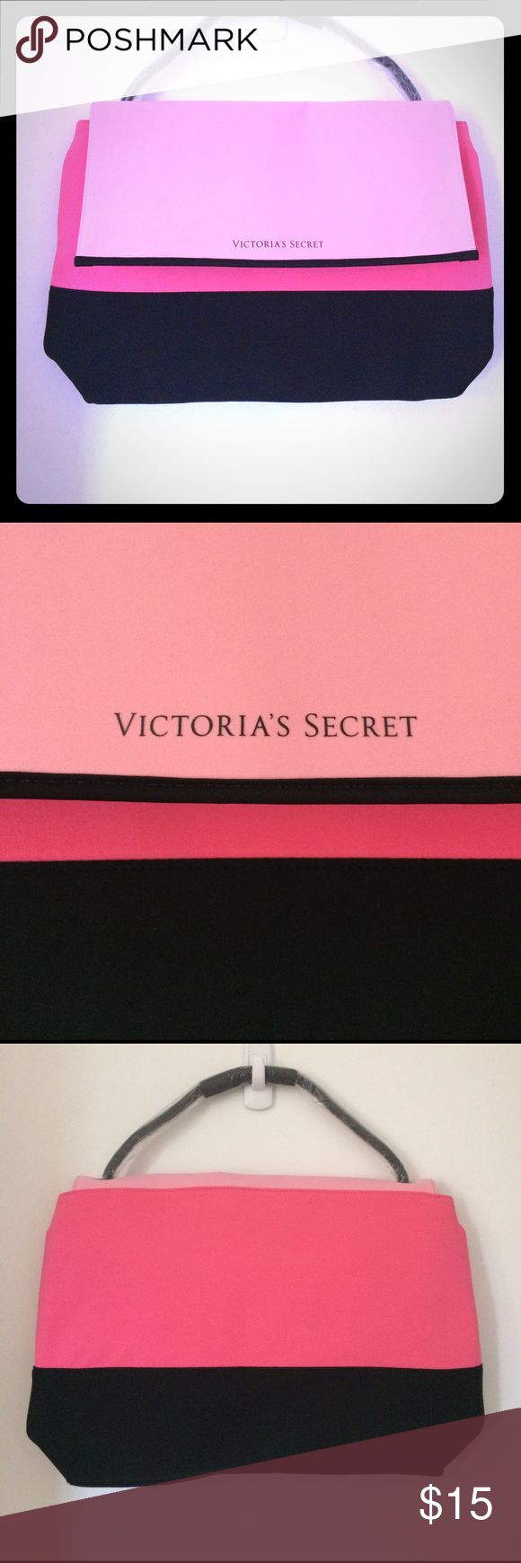 Victoria's Secret insulated bag Insulated tote. Very roomy. Colors that pop. Adorable. New. Never used in original wrapping. PINK Victoria's Secret Bags Totes