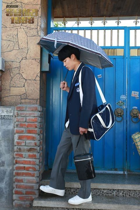 Ryu Jun Yeol as the gentle, thoughtful son/friend Kim Junghwan aka Jungpal