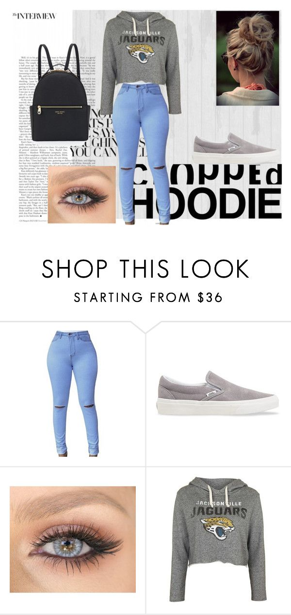 """""""Cute Trend: Cropped Hoodies"""" by lilyrose2000 on Polyvore featuring Vans, Topshop and Henri Bendel"""