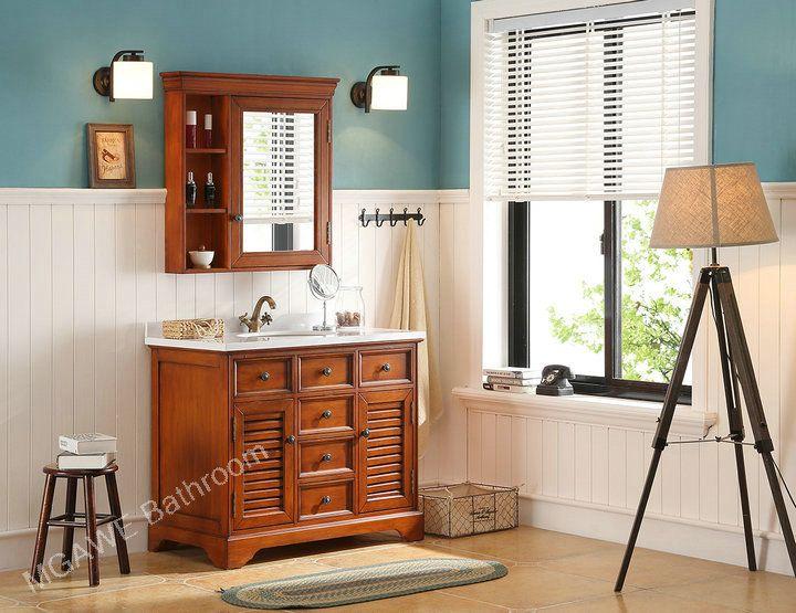 Wooden Bathroom Vanities, Wooden Bathroom Cabinet, Wood Bath Cabinet Unit.
