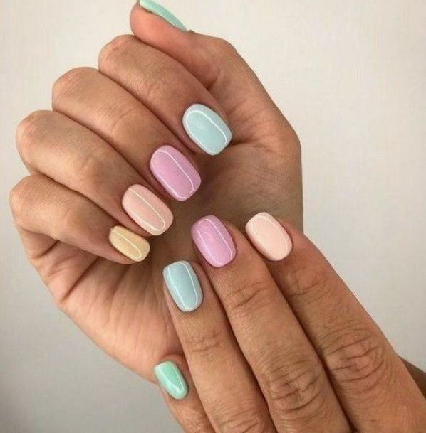Summer Nail Trends 2020 With A Boho Twist Margarita S Galaxy In 2020 Manicure Halo Nails Summer Nails