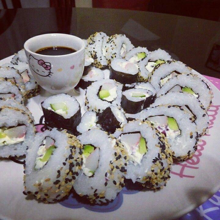 Sushi hecho en casa :)