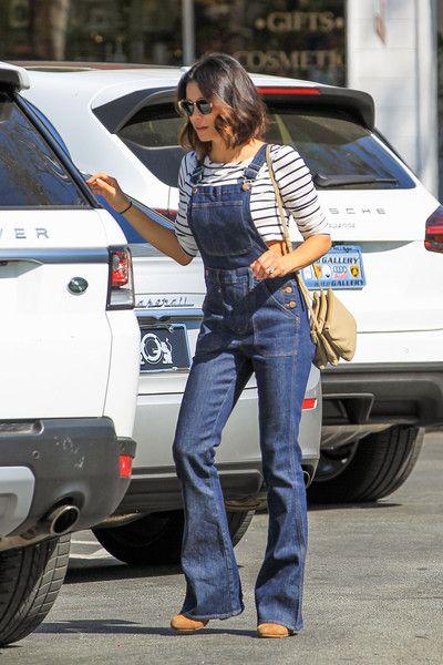 Jenna Dewan-Tatum Rocks Overalls While Running Errands