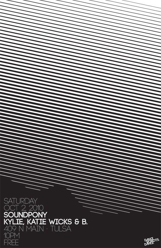 soundpony-10210 / bryanbryan #grafica #poster #optical