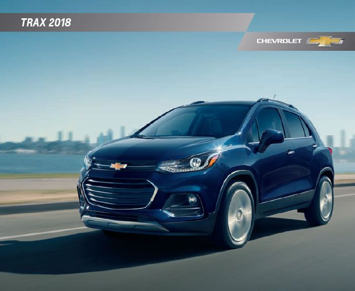 Downloadable 2018 Chevy Trax Brochure Chevrolet Trax Trax Chevrolet