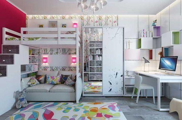 Фотография:  в стиле , Детская, Квартира, Дом, Планировки, Мебель и свет, Советы – фото на InMyRoom.ru