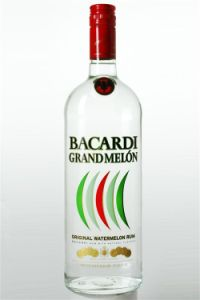 An image of Bacardi Grand Melon Rum
