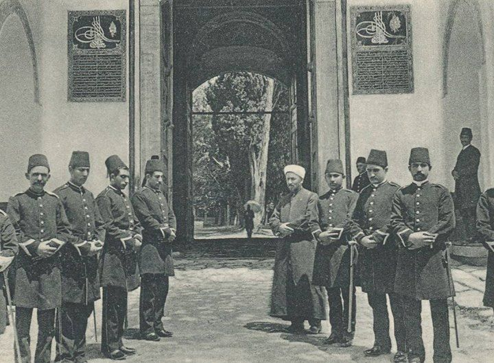 Topkapi Sarayinin Babusselam Kapisi Osmanli Donemi Istanbul The Bab Us Selam Entrance To The Topkapi Palace Ottoman Era Istanbul Fotograf Sanat Osmanli