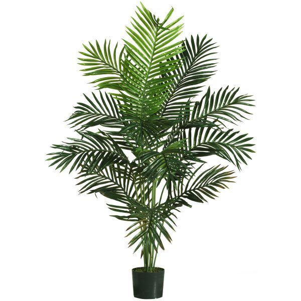 5 Paradise Palm Silk Tree Fake Palm Tree Palm Tree Plant Plant Decor