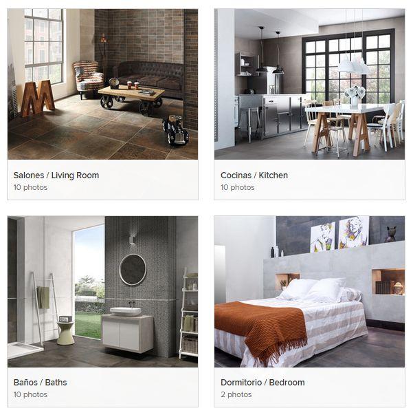 62 best otras estancias cer mica images on pinterest. Black Bedroom Furniture Sets. Home Design Ideas