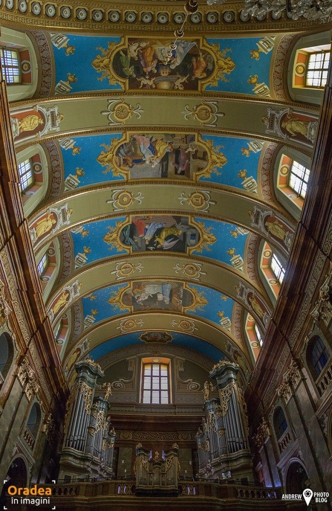 De vizitat: Catedrala Romano-Catolică – cel mai mare edificiu în stil baroc din România | Oradea in imagini