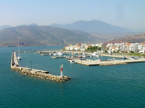 Itea, Greece...very pretty surrounded by sea and mounatins..