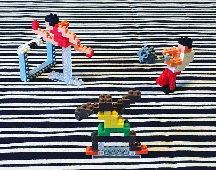 いよいよ明日は開会式🏅 今日はオリンピックのレジェンドを、ハッシュタグ付けながら思い出してみよう... Athletics(nanoblock). #ナノブロック#世界最小級ブロック#大図まこと#リオデジャネイロオリンピック#陸上#スプリンター#砲丸投げ#110メートルハードル #ウサインボルト#カールルイス#ベンジョンソン#フローレンスジョイナー#セルゲイブブカ#有森裕子#高橋尚子#アベベ#室伏広治#劉翔#手ぬぐい#子持縞#がんばれニッポン #nanoblock#microsizedbuildingblock #athletics#sprinter#hammerthrow #110mhurdles #rio2016#instananoblock