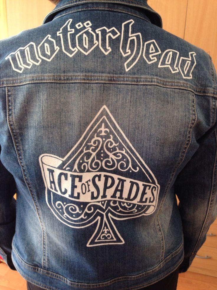 Motorhead black leather jacket