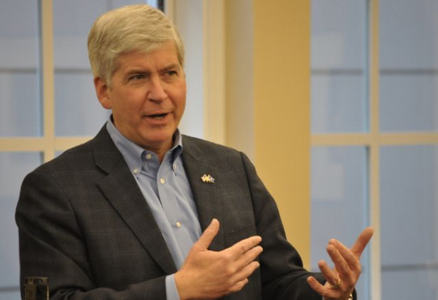 Gov Rick Snyder and Michigan Republicans allowed the lead poisoning and now…