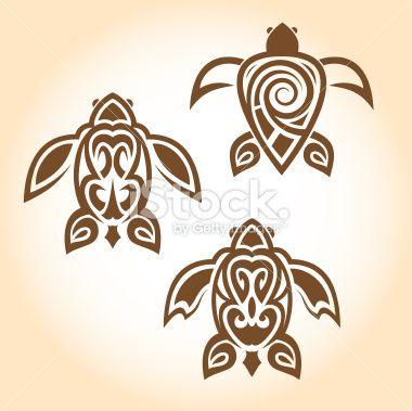 stock-illustration-13723856-tribal-turtle-tattoos.jpg 380×379 pixels