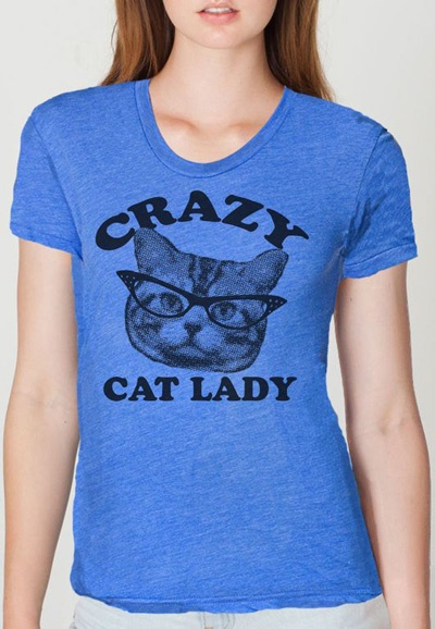 {Crazy Cat Lady tee} I have to have this!