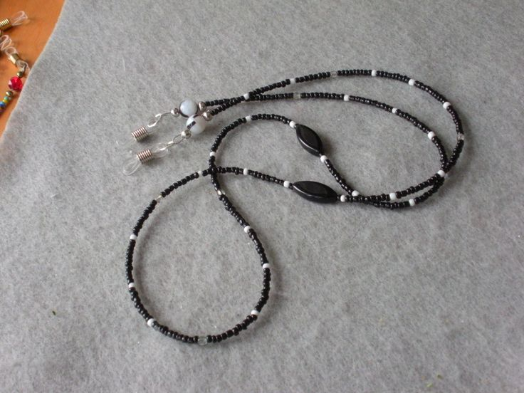 17 best images about beaded eyeglass leashes on