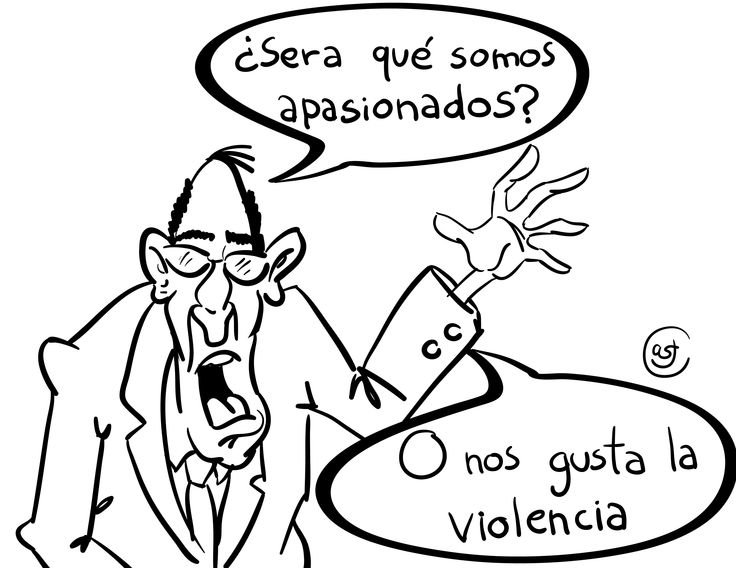 Don Anónimo, una publicación sobre el problema de la violencia.