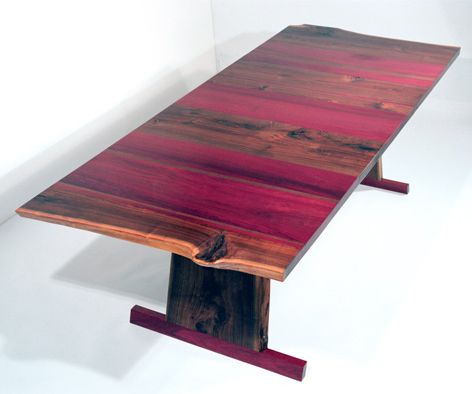 Solid Walnut Dining Table   absolutely gorgeous with purple heart wood. 25  unique Purple heart wood ideas on Pinterest   Different types