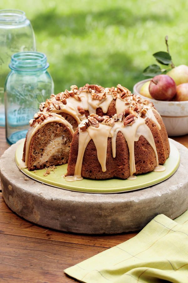 Tempting Apple Desserts: Apple-Cream Cheese Bundt Cake