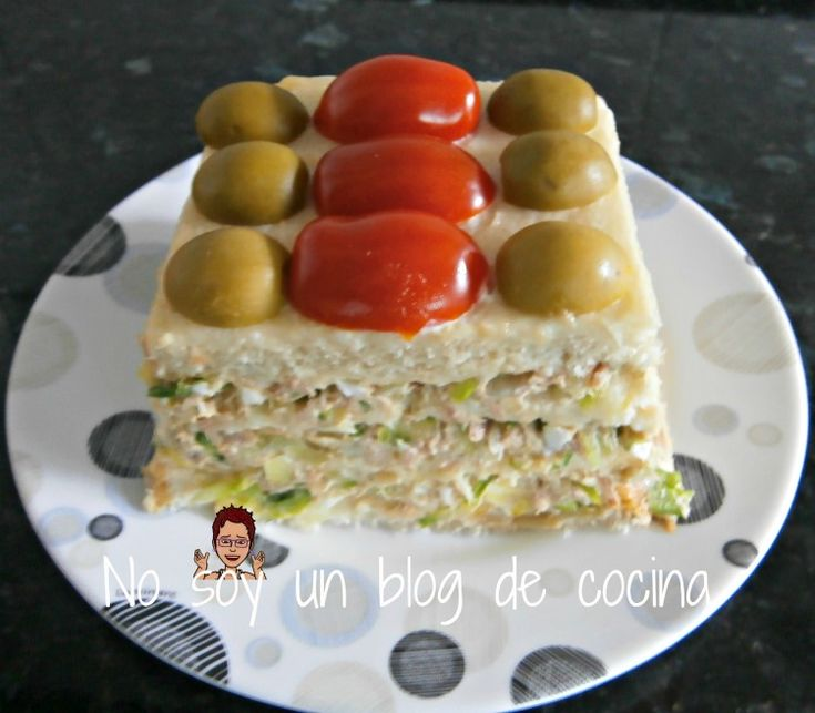 No soy un blog de cocina: PASTEL DE PAN DE MOLDE