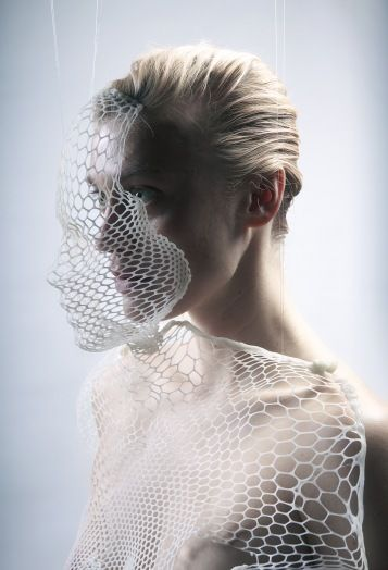 #futuristic #fashion lines,shapes,white,silver,texture hard