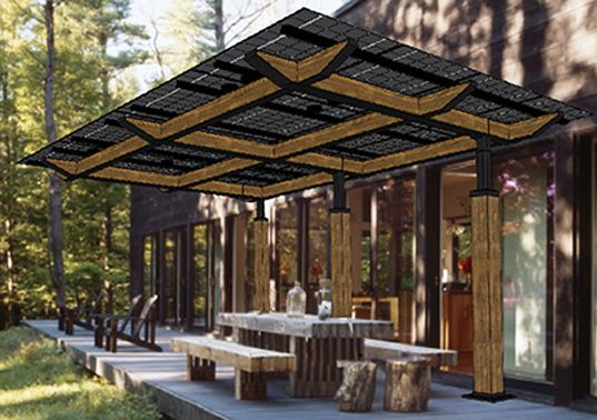 Lumos Solar just unveiled their newest product: a modular and customizable photovoltaic structure called the SolarScape.