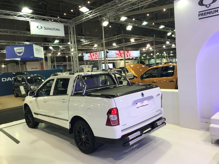 #Autokinisi2017 #National #Greek #auto #exhibition #SsangYong #Greece #booth #ActyonSport #aluminum #roller #lid #shutter #rolltop #sotrollseries by #Tessera4x4 #accessories #painted in popular #BlackMatt #version, combined with #stainless #steel #rollbar & #sport #design #side #stainless #steel #handrails. Also with #stainless #steel #rear #bumper. #Premium #quality #accessories from #Tessera4x4 #accessories.