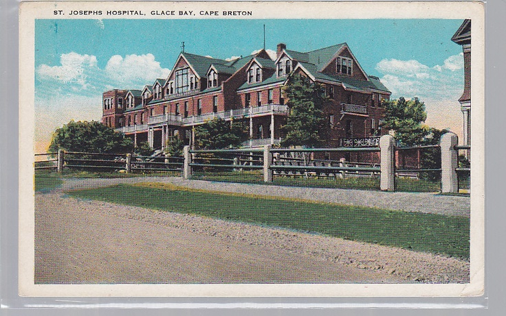 St. Joseph's Hospital_Glace Bay_Cape Breton in earlier days http://CaperBuzz.Com