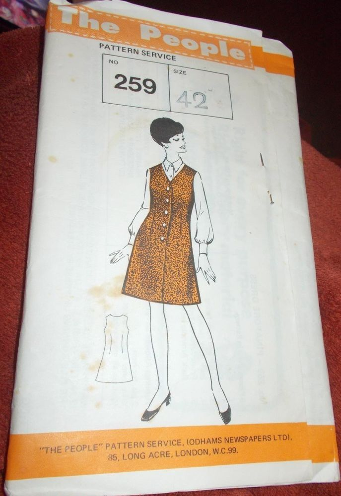 The People, Sewing Pattern No.259 Size 42