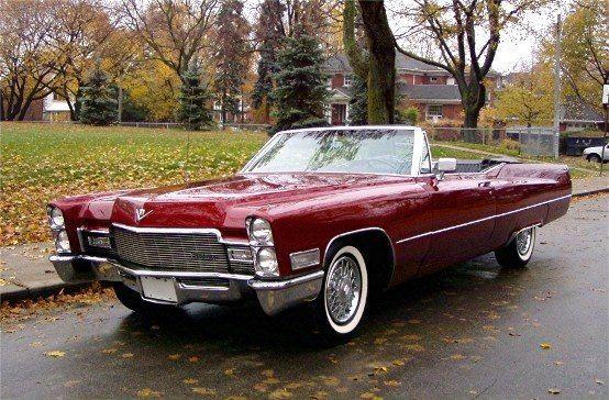 1968 Cadillac Coupe Deville / Только машины