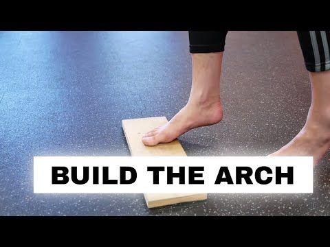 Fix flat feet and fallen arches (foot strength exercise ...
