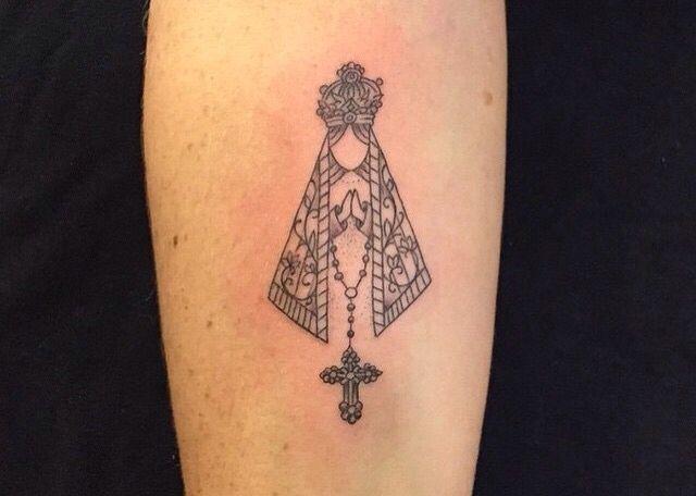 Nossa Senhora Aparecida: Tattoo Delicadas De Amo