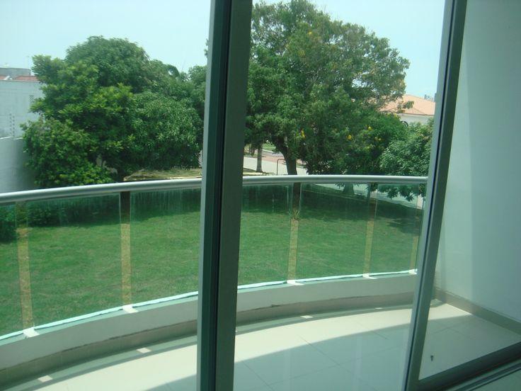 Vista del balcón del dormiitorio principal