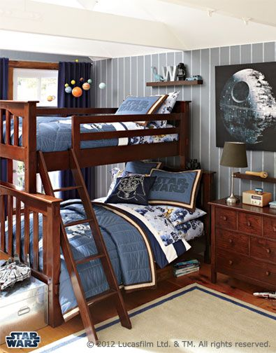 Grey Paint Color And Navy Curtains Full Bunk Beds Kids