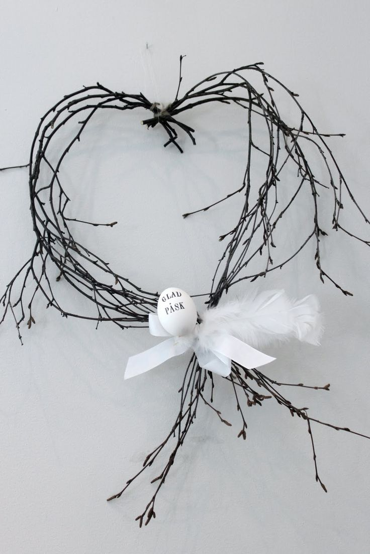 Einfache, schlichte Dekoration zu Ostern mit großer Wirkung