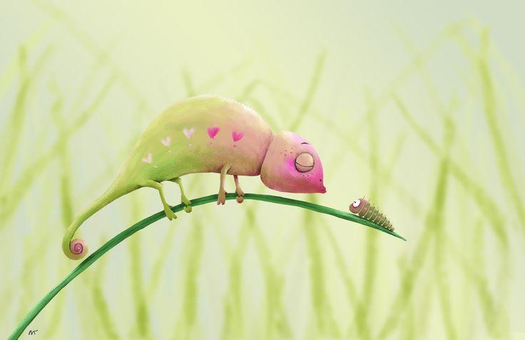 In love – andrearingli illustration