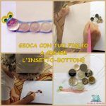 Insetto-bottone: un'attività creativa da fare insieme ai bambini