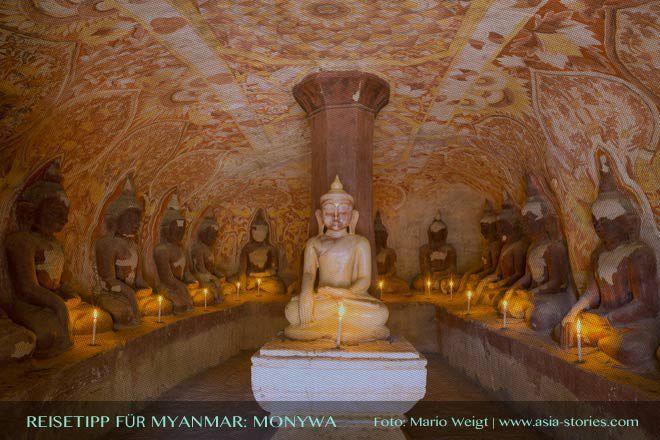 MYANMAR Reisetipps: KAKKU | Hier bekommst du die besten Insidertipps für deine Reise nach KAKKU in Myanmar: Hotels, Gästehäuser, Kosten, Anreise, Karten, Maps, Restaurants, Eintrittspreise, Reiseberichte uvm. www.MyanmarBurmaBirma.com | Hpo-Win-Daung-Höhlen