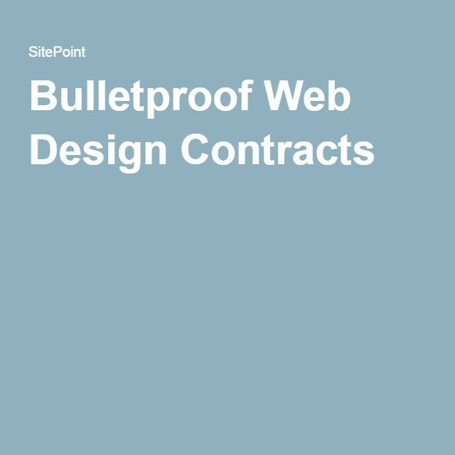 The 25+ best Web design contract ideas on Pinterest Contract - development contract template