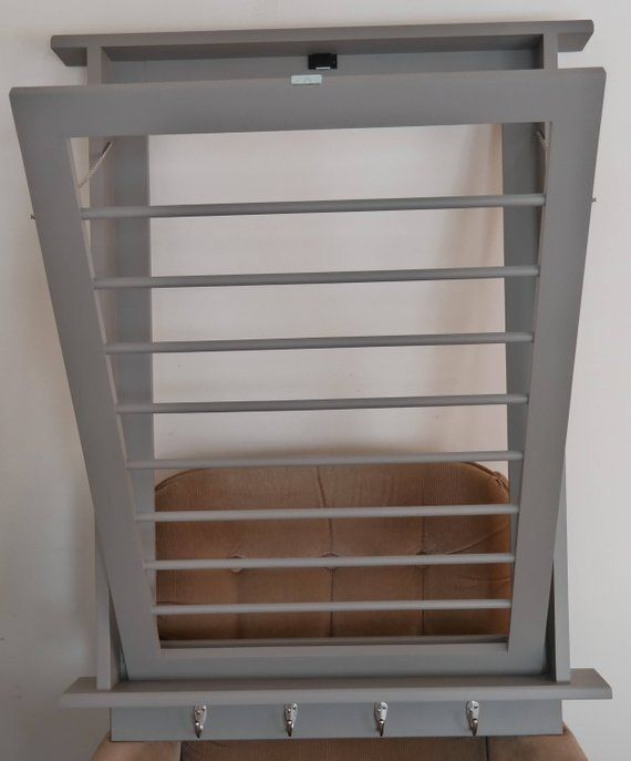 On Sale Drying Rack Laundry Drying Rack Wall Drying Rack Etsy Wall Mounted Drying Rack Wall Drying Rack Drying Rack Laundry