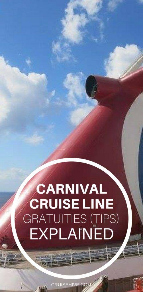 Carnival Cruise Line Gratuities Tipping Explained Cozumel Tipps Karibik