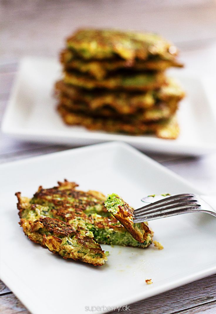 Broccoli Parmesan Fritters. Great idea for a side dish. Perfect with ...