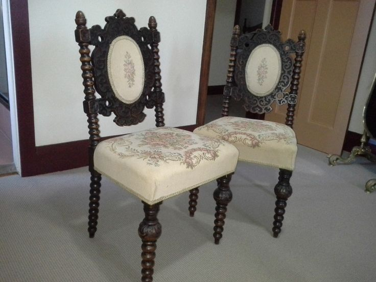 Pair of Edwardian upholstered oak chairs ca1890 http   beauforthouse com au. 90 best Antiques   18th   19th century PERFECTION images on