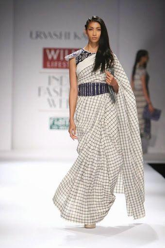 Urvashi Kaur WLIFW S/S 15 (windowpane checks)