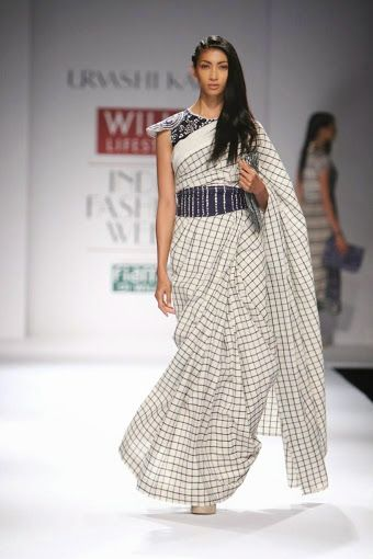 Urvashi Kaur WLIFW S/S 15 (windowpane checks)
